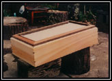 Cloth Screened Coffin